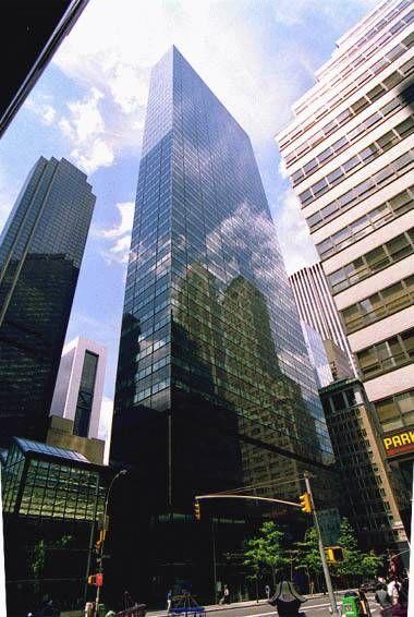 590 Madison Avenue, formerly the IBM Building by Edward Larrabee Barnes & Associates, 1979-83