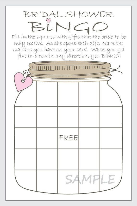 Magic image with regard to bridal shower bingo free printable