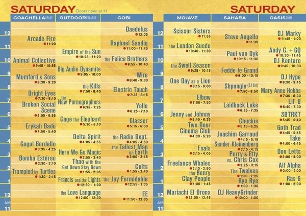 coachella schedule