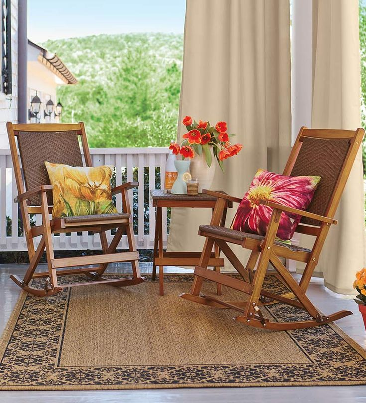 best Wood Patio Furniture  Outdoor Furniture  on Pinterest