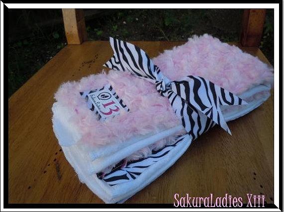 Set of 2 Minky Zebra Burp Clothes $16 #etsy #zebra #baby #girlKiddos