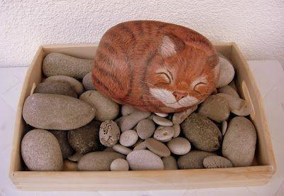 L' albero dei sassi: Filastrocca del gatto rosso