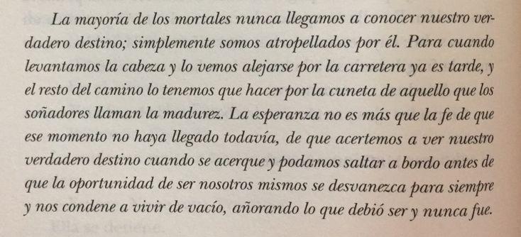 Fragmento del libro El laberinto de los espíritus de Carlos Ruiz Zafón