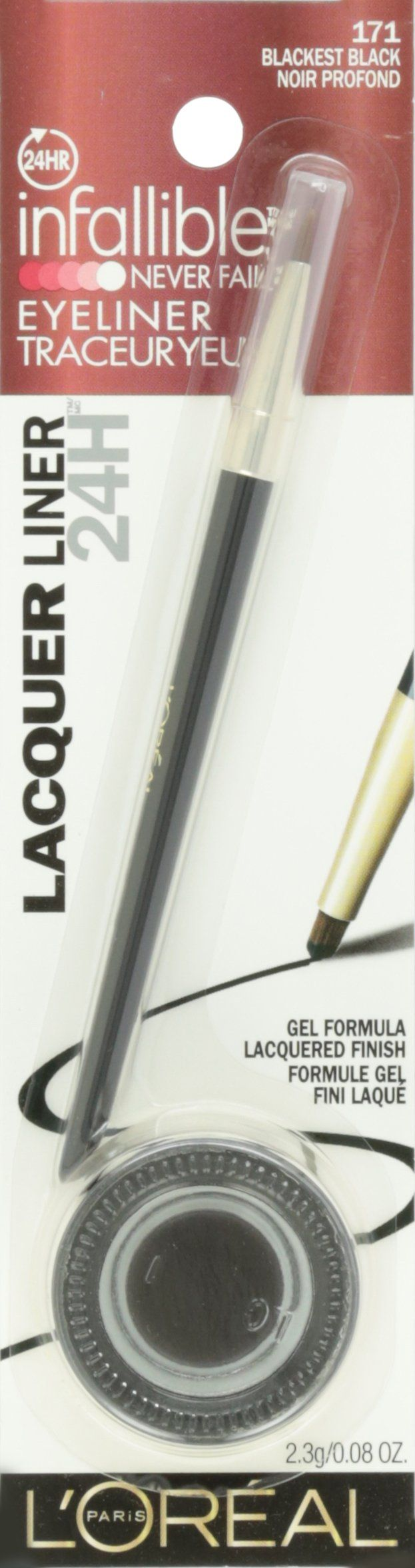 Amazon.com : L'Oreal Paris Infallible Lacquer Eyeliner