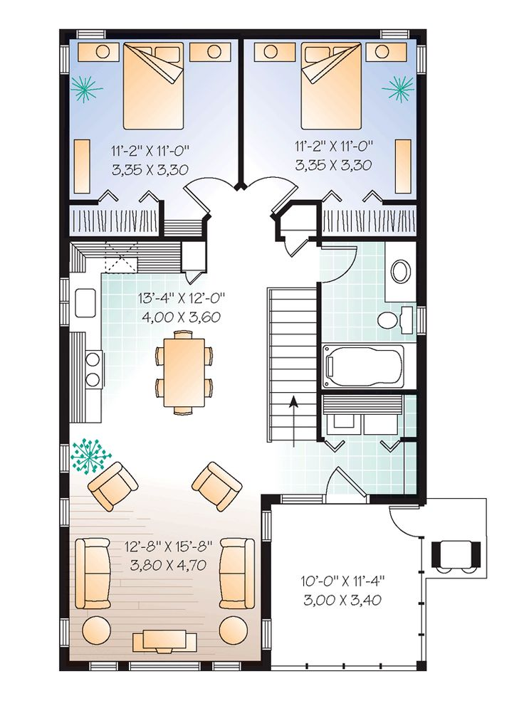 45 best images about floor plan on pinterest house plans for 2 5 garage plans