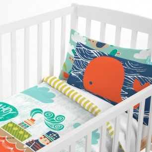 AHOY THERE COT BED DUVET COVER 115x145 2