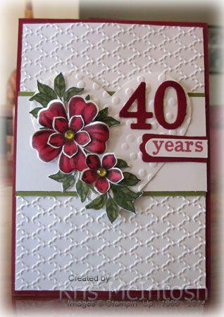 SU Flower Shop, Petite Petals, leaf - Bloom With Hope, Hearts Framelits,  Decorative Dots EF  (July 27, 2014)