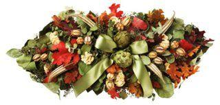 Salal & Eucalyptus Centerpiece, Dried