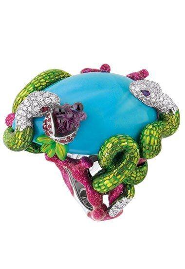 Anello serpenti Dior Joaillerie - Anelli con animali: preziosa selezione di anelli a forma di animali