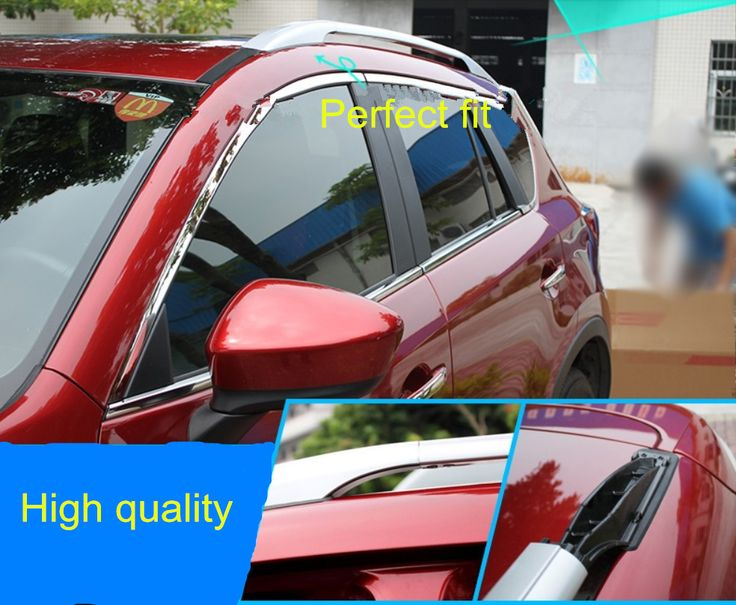Sliver Side Bars Rails Roof Rack Fit For Mazda CX5 CX5