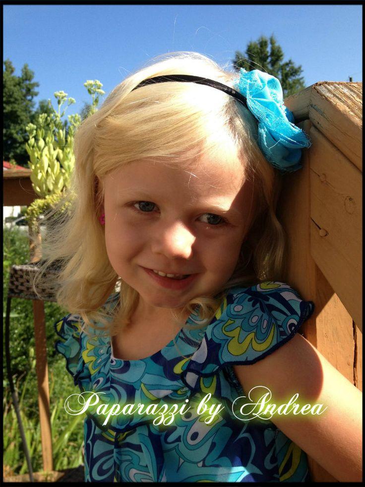 Olivia Rocking her Paparazzi Headband!! :)
