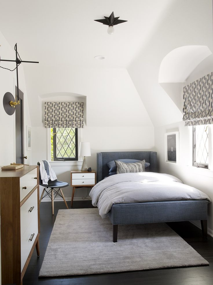 Steal This Look: His and Hers, Mid-Century Inspired Kids' Bedrooms