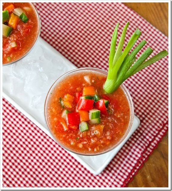 gazpacho which is finished with a lime cream beet gazpacho recipe is ...
