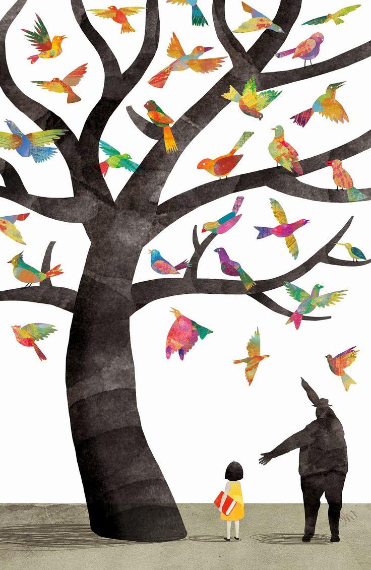 Birds in the Tree Juan Palomino