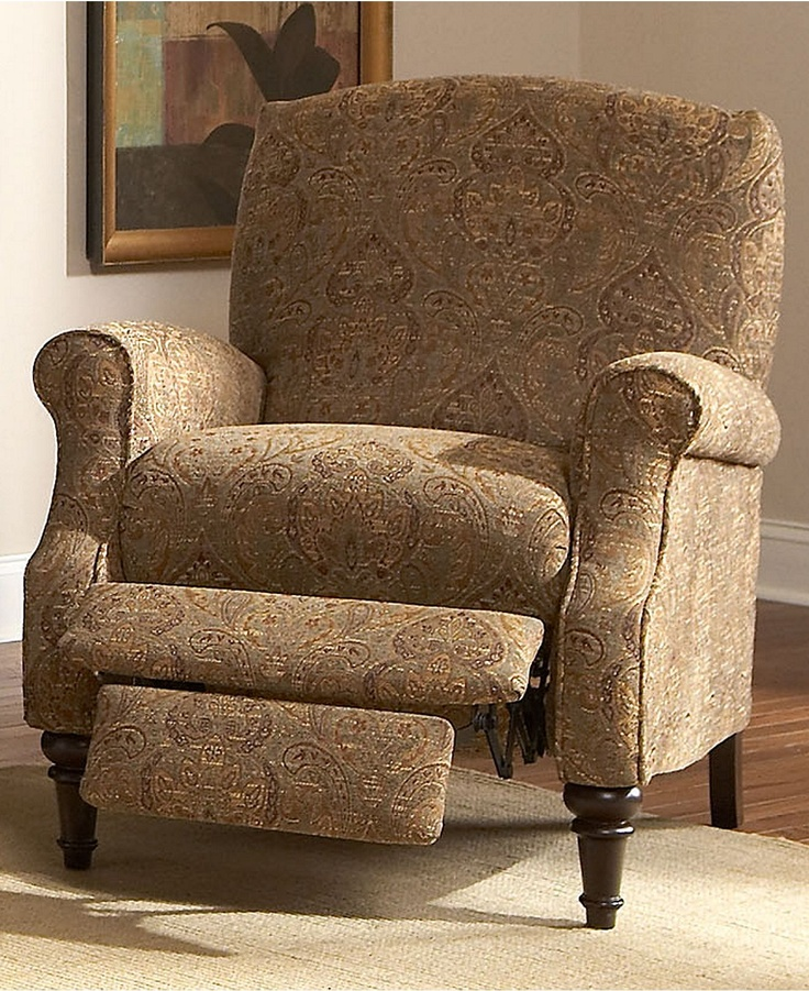 Chloe Recliner Chair High Leg Country Style - Chairs - furniture - Macyu0027s & 42 best Livingroom images on Pinterest | Recliners Arm chairs and ... islam-shia.org