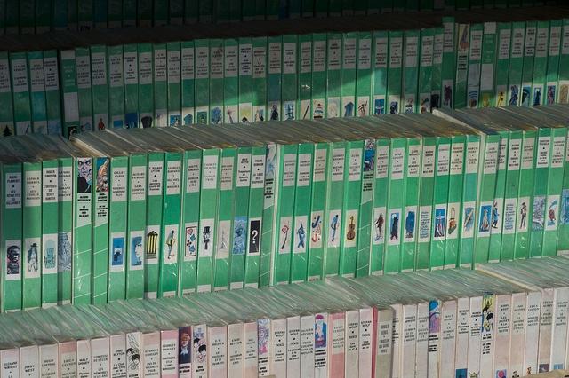 Bibliothèque rose, bibliothèque verte... La lecture, une passion qui n'a fait que croître au fil des ans...