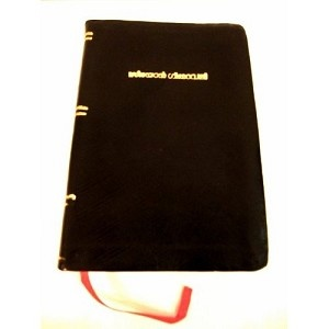 Malayalam Christian Songbook / Seeyon Geethavaly / Black Leather Bound Malayalam Hymnal / Golden Edges / 2415 songs / India / Kerala CHI