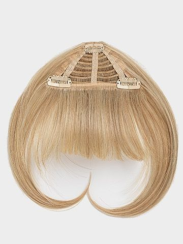I LOVE LOVE LOVE mine!!! I need to get a new pair though... Clip-in bangs by Jessica SImpson hairdo