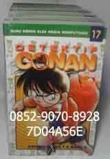 Komik bekas murah, harga komik bekas, toko komik bekas, jual komik bekas online, buku komik online. NEW DETEKTIF CONAN 1 Siapa tak kenal Conan? Detektif cilik jelmaan Shinichi Kudo yang tubuhnya menciut karena racun dari kawanan berjubah hitam. Kali ini, dalam penyamarannya sebagai anak SD, dia masih bisa membagi waktu antara memecahkan kasus dan bermain dengan kelompok detektif ciliknya. Kali ini, Conan berakasi dalam kasus pendek yang cukup menegangkan.