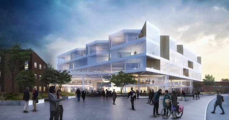 Henning Larsen Architects Wins Competition to Design a New Forum at Lund University , Courtesy of Henning Larsen Architects
