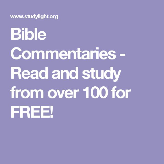 Best 25 free bible commentary ideas on pinterest bible bible commentaries read and study from over 100 for free fandeluxe Gallery