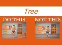 Perfecting the Bikram yoga poses: Tree yoga pose