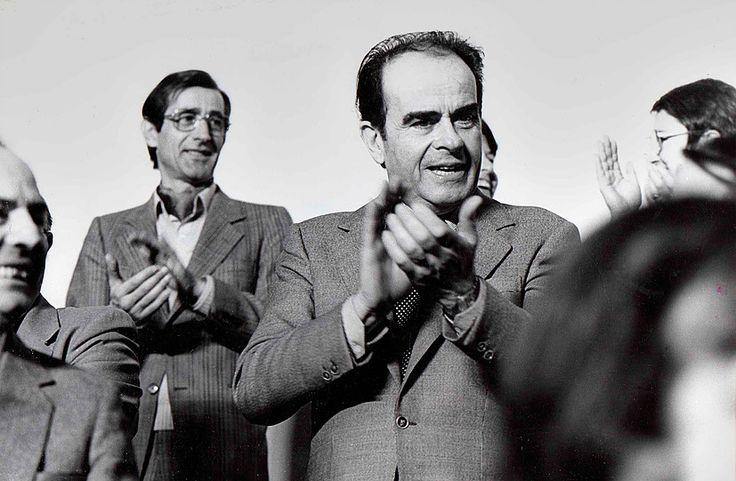 Georges Marchais, ancien secrétaire général du parti communiste français, France 1983. © Franck Pédersol