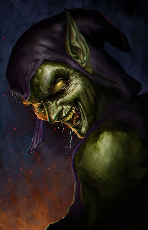 The Green Goblin,  OR THE GUY I WAS WORKING FOR A SHORT TIME AGO, THEY LOOK ALIKE SOUND ALIKE, SMELL ALIKE AND TREAT OTHER PEOPLE JUST THE SAME.