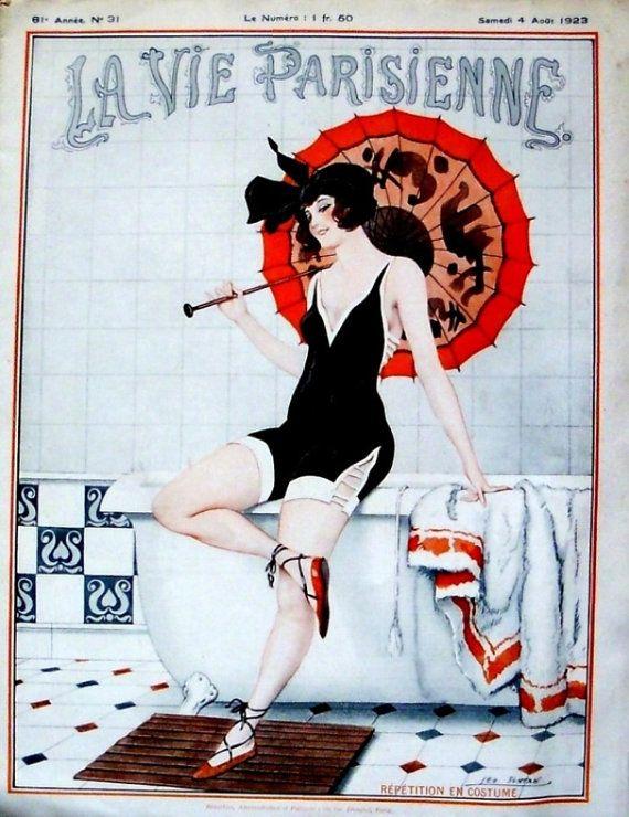 La Vie Parisienne 1919 and 1923 French Art Deco risque by batnicks,