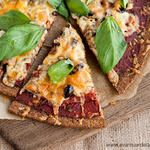 Receta: Coca, Pizza o Crackers de Trigo Sarraceno Fermentado