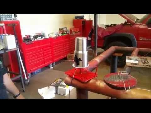 Yeti powder coat stand  Easiest method  - YouTube | powder coating