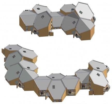 hexagonal roof play