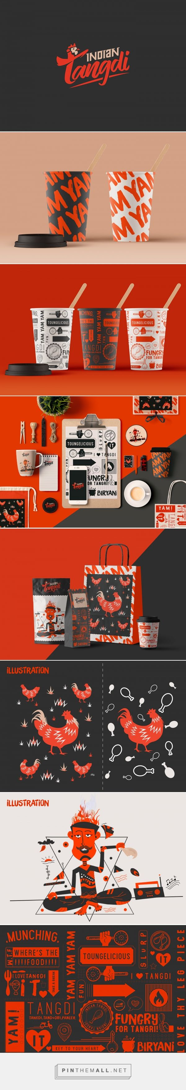 Indian Tangdi Restaurant Branding by Dimpy Verma | Fivestar Branding Agency – Design and Branding Agency & Curated Inspiration Gallery