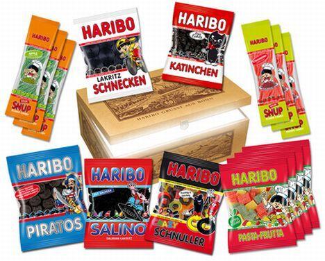Liste vegetarische und vegane Haribo Produkte