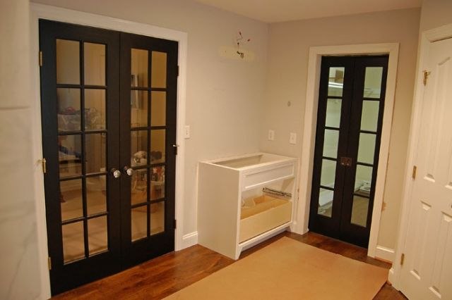 12 Best Painted French Doors Images On Pinterest Black French Doors Black Door And Living Room