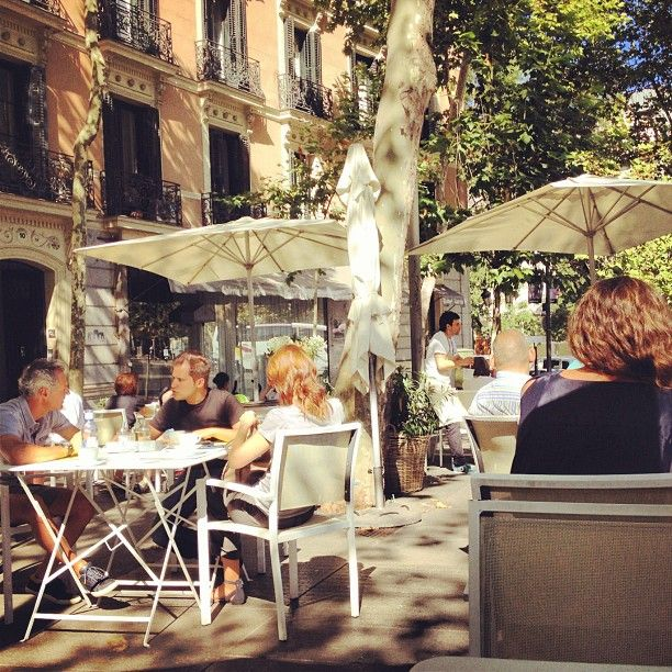 A sunny day in Madrid