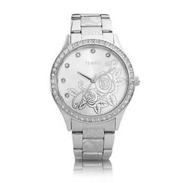 Tempo Ladies flower dial. http://www.sterns.co.za