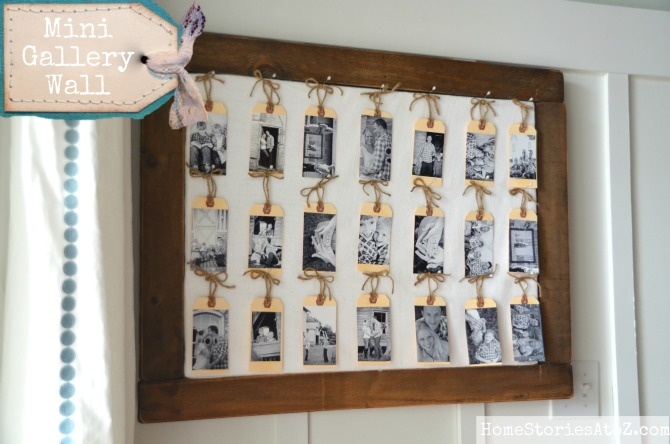 Love this idea! Perfect for your home or as a gift for mom, bride, grandparents, etc!