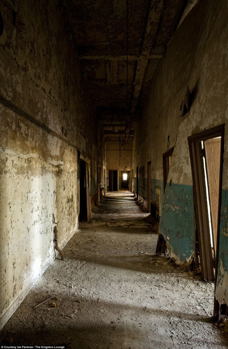 Corridor, School and Services Building: New York's abandoned North Brother Island Hospital