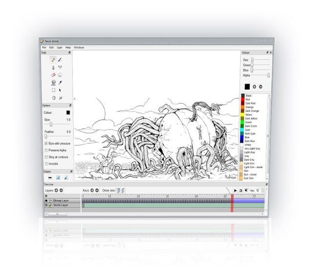 Best Free 2D Animation Software to Use  #Windows
