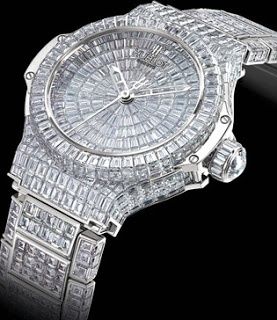 Hublot.  Million $ Black Caviar Bang Price: $ 1,000,000 This is the most expensive with the number 544 black diamonds offer a total of 34.5 carats created in 1980 by Moët Hennessy Louis Vuitton.