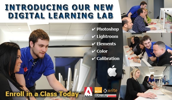 The Digital Learning Lab at Unique Photo in Fairfield, NJ.  Click to check it out!