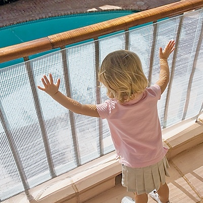 No Climb Deck Guard Safety Screen One Step Ahead Baby