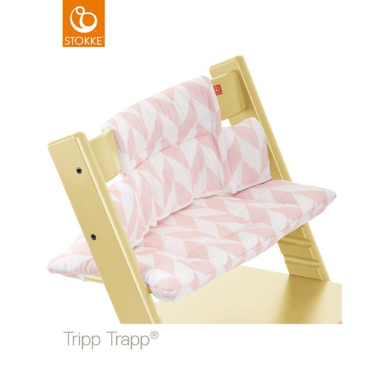 Stokke® Tripp Trapp® Sitzkissen Pink Chevron, beschichtet