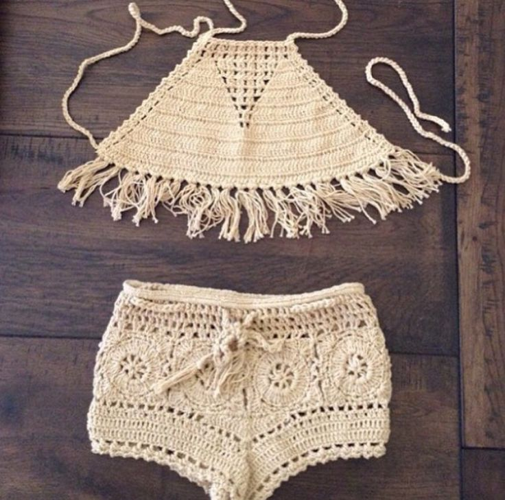 Toddler summer crochet top and shorts | Pinterest | Samdstylist | mini me fashion