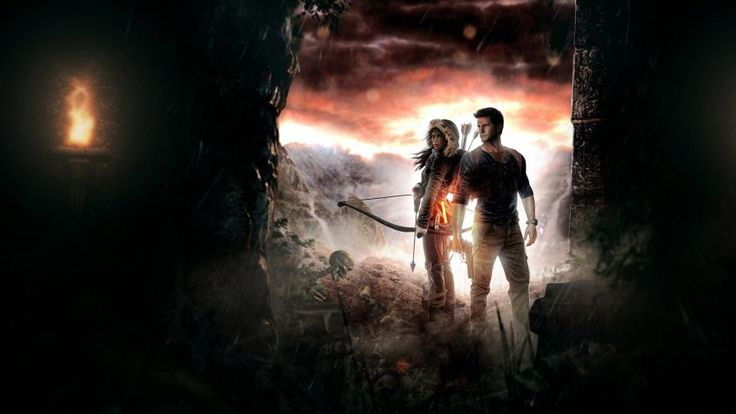 Lara Croft And Nathan Drake 5k