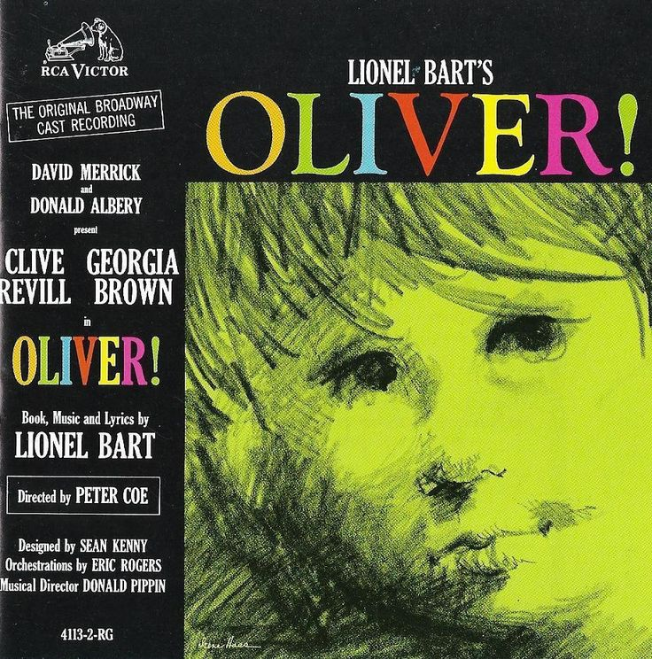 Lionel Bart's OLIVER! Clive Revill - Georgia Brown - Original Broadway Cast CD