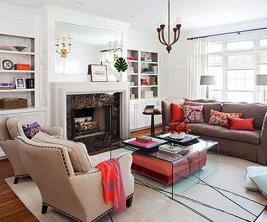 Amazing room makeover on better homes and gardens