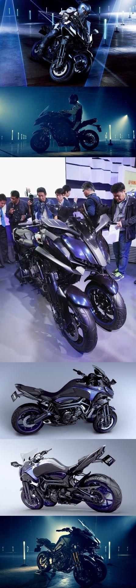 Yamaha Might bring MWT-9 Based Three Wheeler by 2018