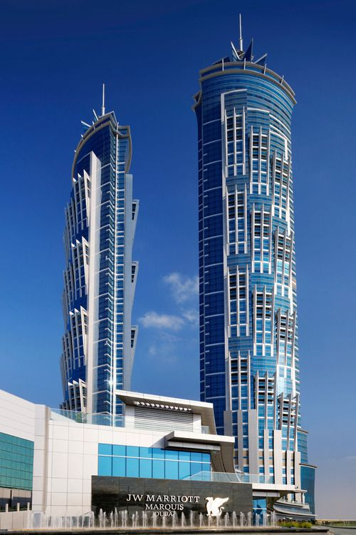 Opening Night at Dubai's JW Marriott Marquis, the World's Tallest Hotel
